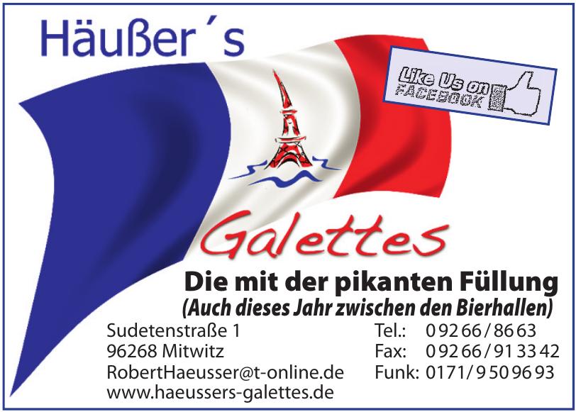 Häußer's Galettes
