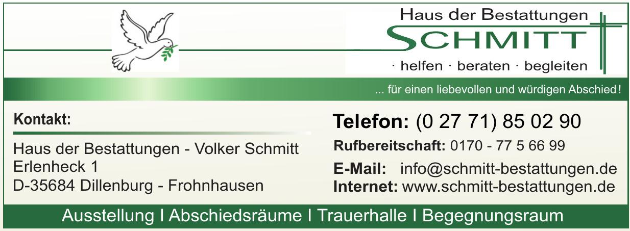 Haus der Bestattungen - Volker Schmitt