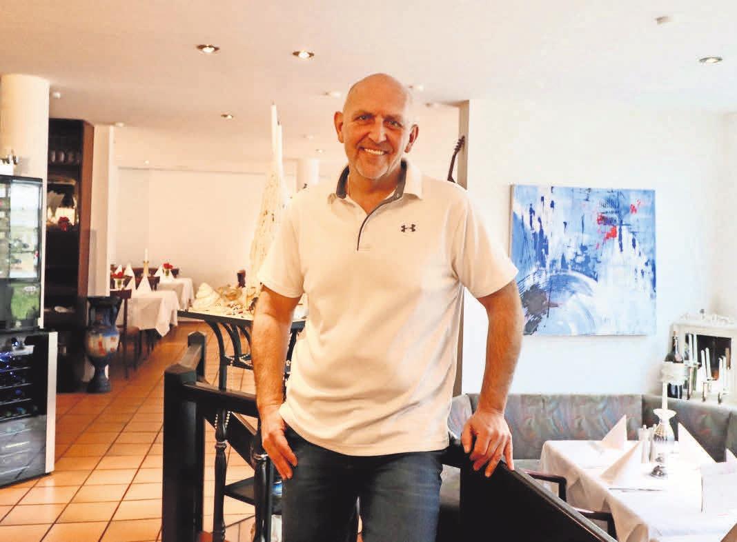 Restaurantchef Rolf Kootsch verwöhnt seine Gäste am Valentinstag mit einem Drei-Gang-Menü.