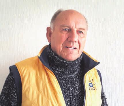 Reinhard Seegers engagiert sich für die Kirchengemeinde.