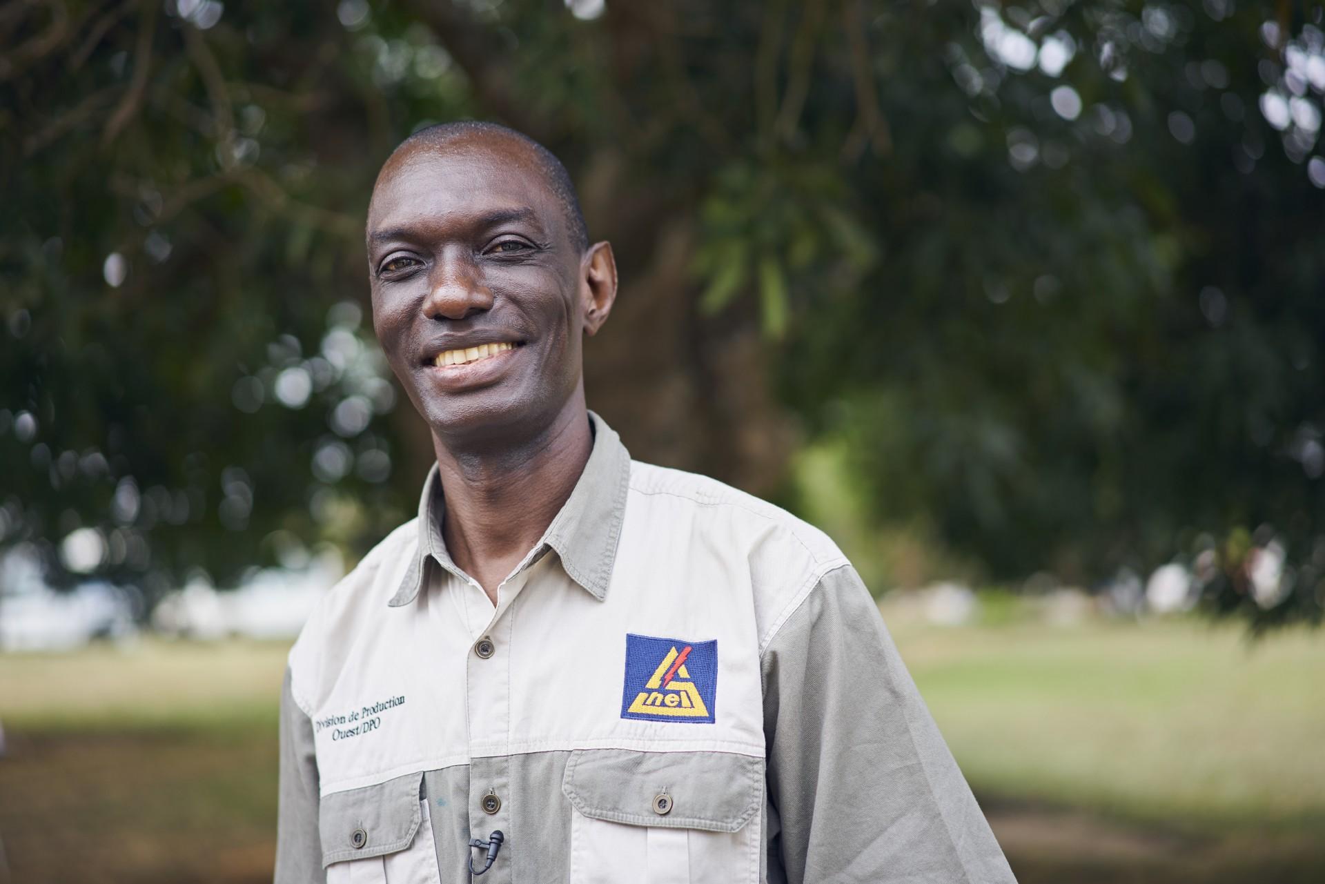 Henri Makap A. Muteb, Produktionsleiter<div>von SNEL im Westen der DR Kongo.</div>