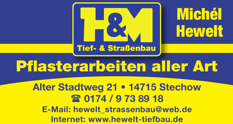 H&M Tief- u. Straßenbau Michél Hewelt
