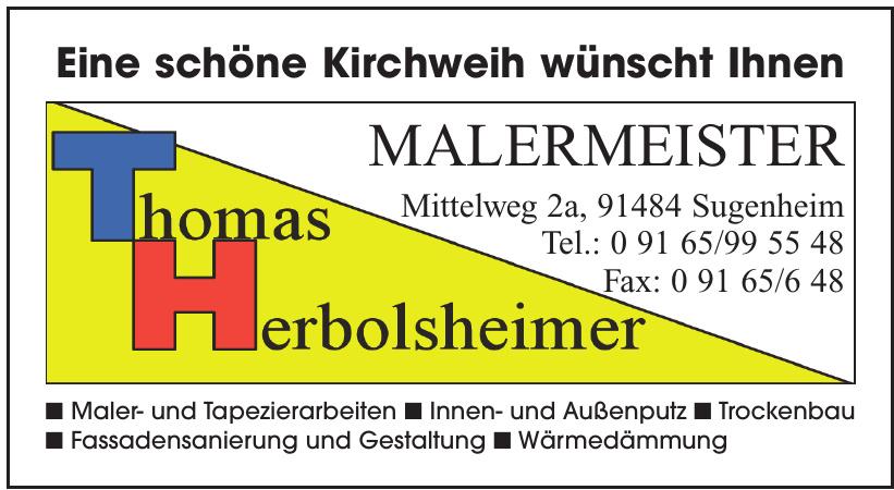 Malermeister Thomas Herbolsheimer