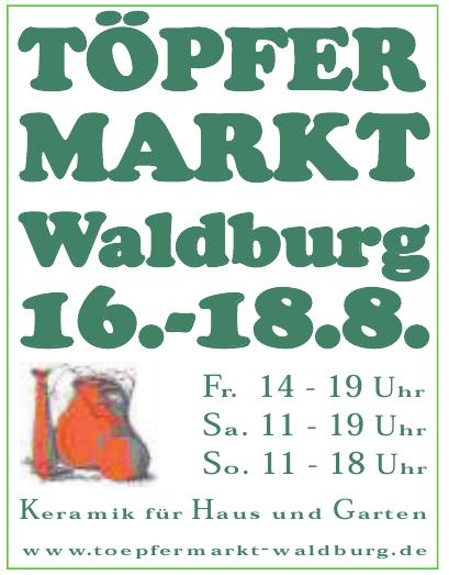Töpfermarkt Waldburg