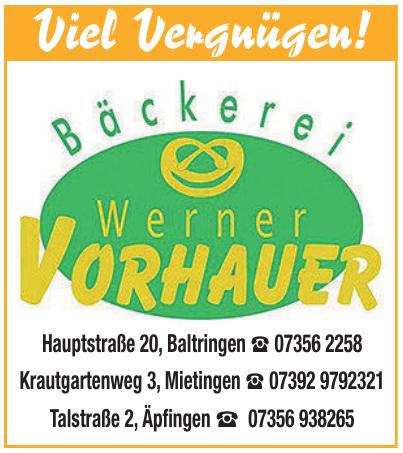 Bäckerei Werner Vorhauer