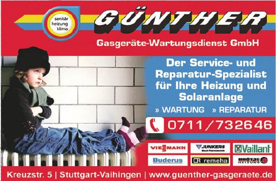 Günther Gasgeräte-Wartungsdienst GmbH