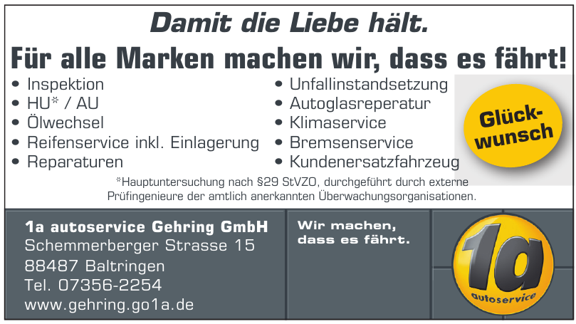 1a autoservice Gehring GmbH