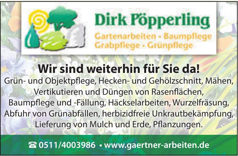 Dirk Pöpperling Gartenarbeiten