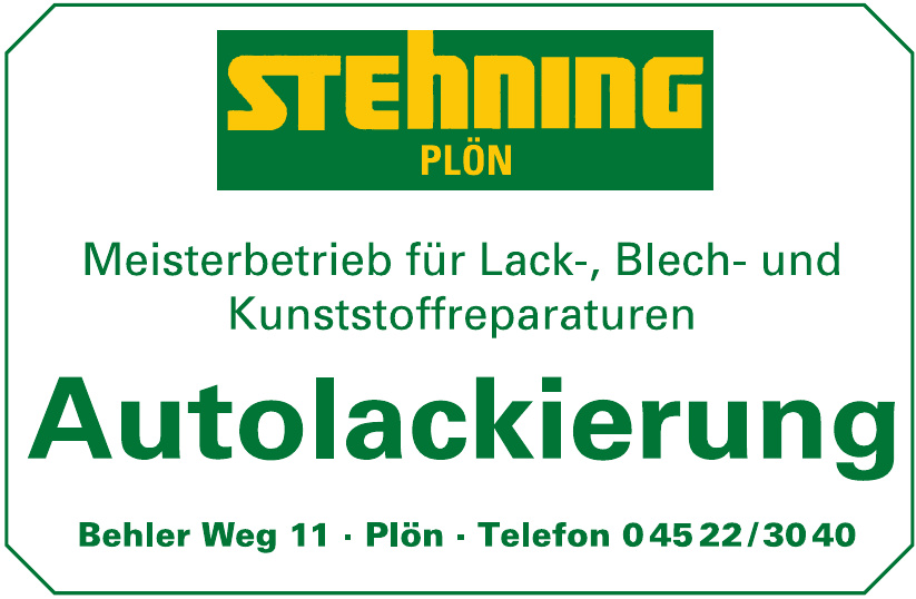 Autolackierung-Stehning Plön