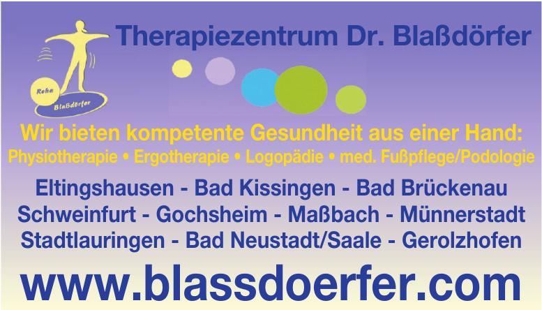 Therapiezentrum Dr. Blaßdörfer