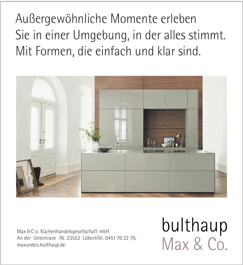 Max&Co. Küchenhandelsgesellschaft mbH