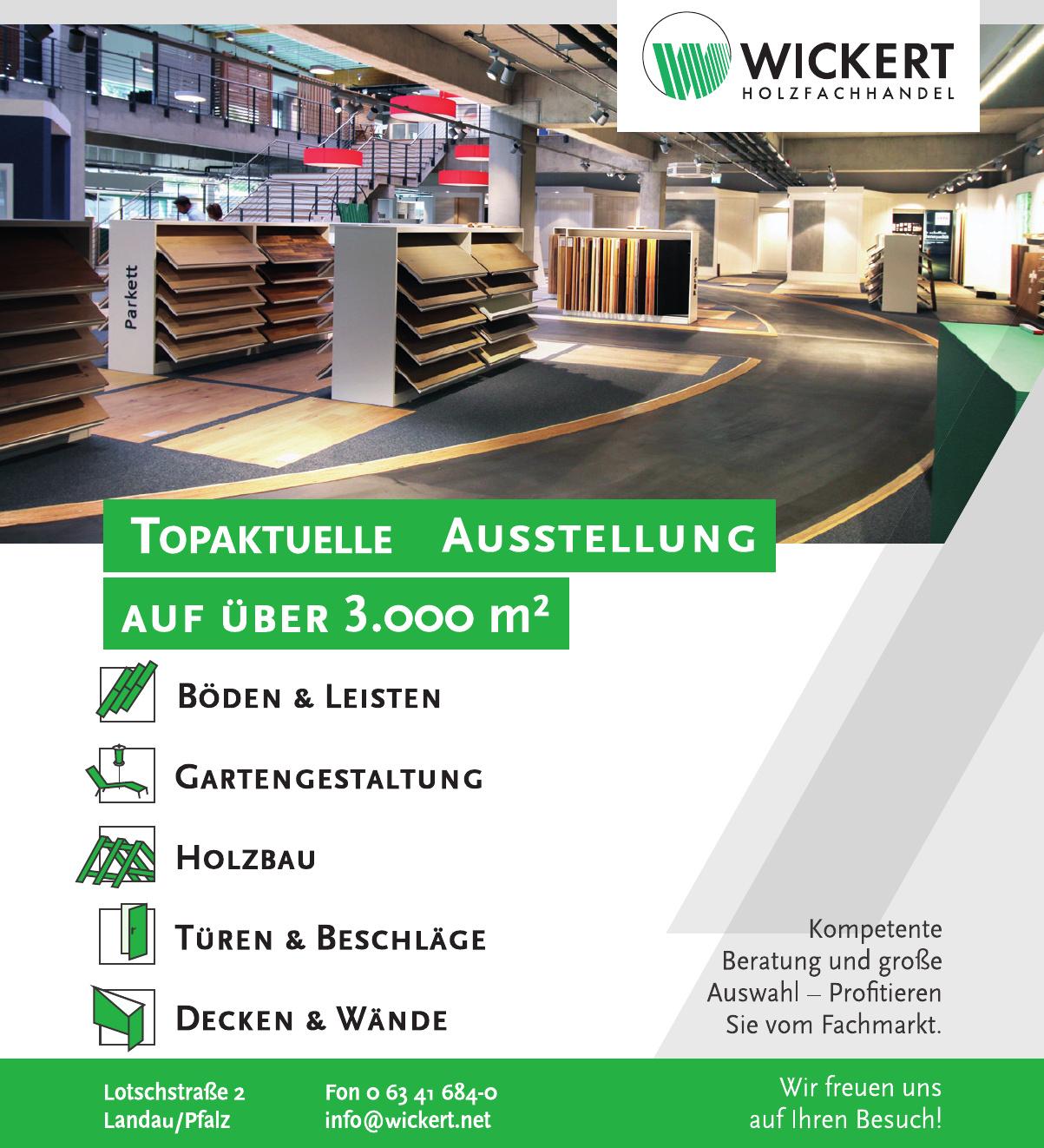 Wickert Holzfachhandel