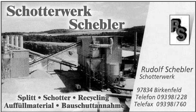 Rudolf Schebler Schotterwerk-GmbH