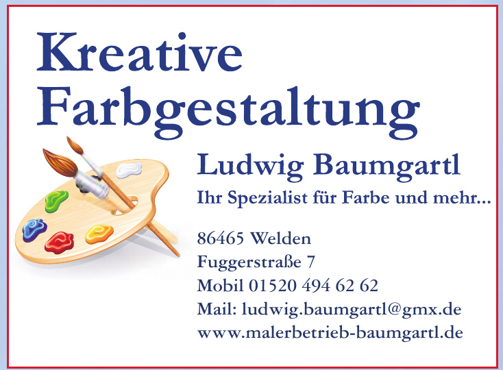 Kreative Farbgestaltung - Ludwig Baumgartl
