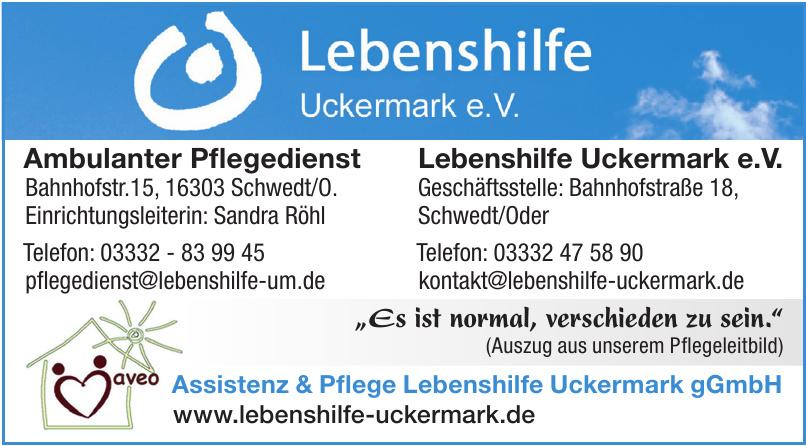 Lebenshilfe Uckermark e.V.