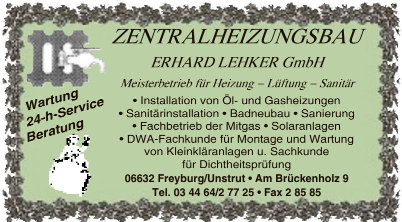 Zentralheizungsbau Erhard Lehker GmbH