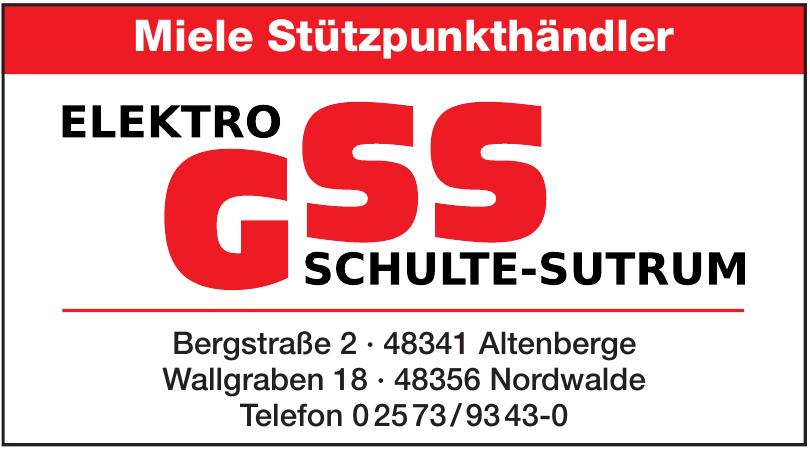 Elektro GSS Schulte-Sutrum