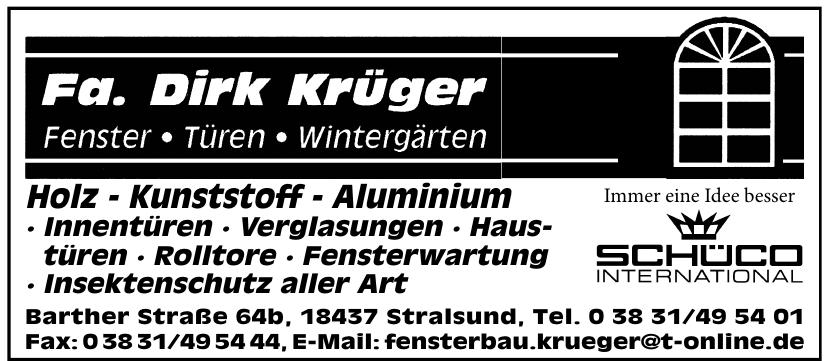 Fa. Dirk Krüger