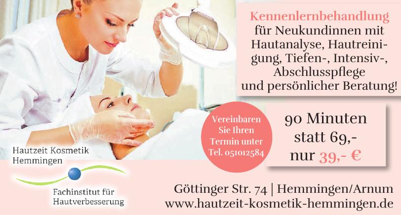 Hautzeit Kosmetik