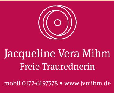 Jacqueline Vera Mihm