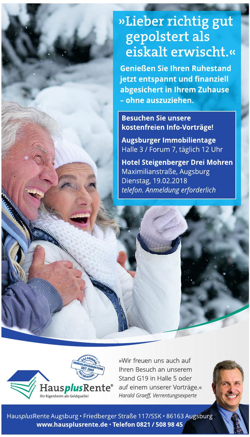 HausplusRente Augsburg