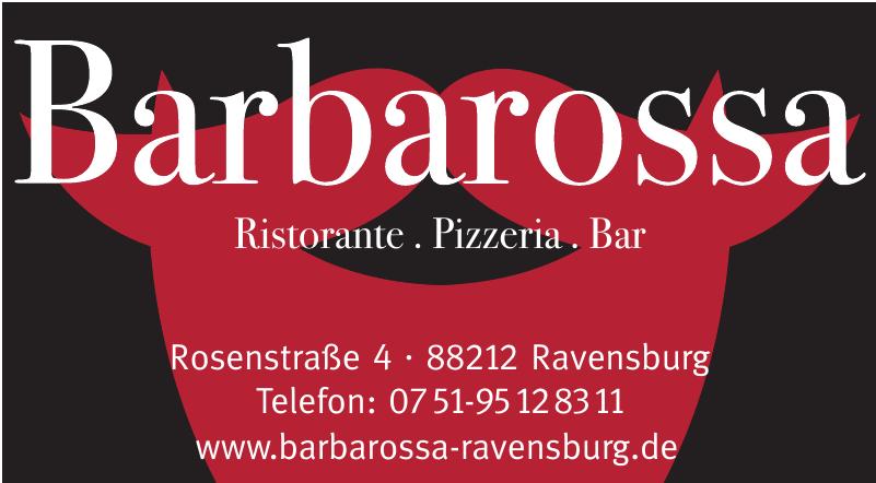 Barbarossa - Ristorante. Pizzeria. Bar.