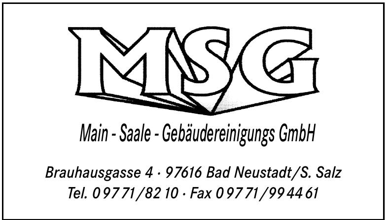 Main-Saale-Gebäudereinigung GmbH