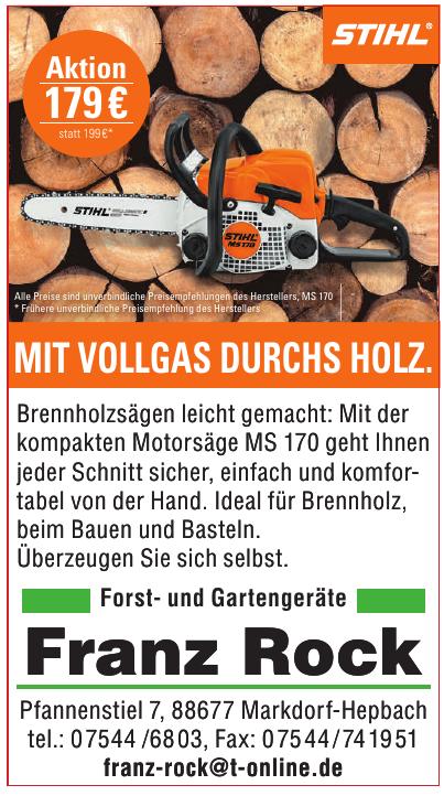 Forst- und Gartengeräte Franz Rock