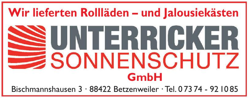 Unterricker Sonnenschutz GmbH