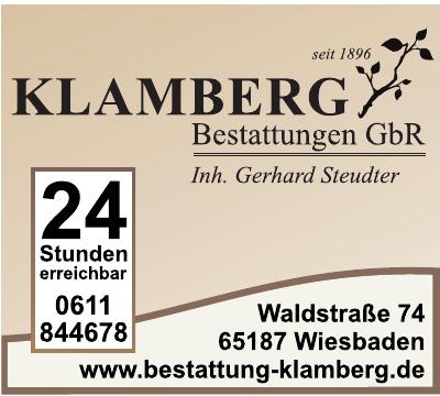 Klamberg Bestattungen GbR