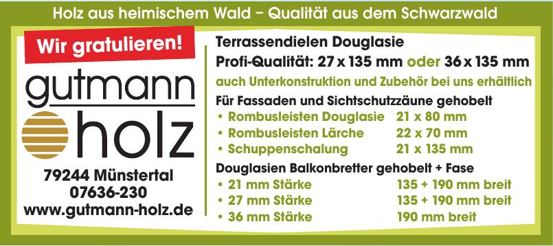 Gutmann Holz