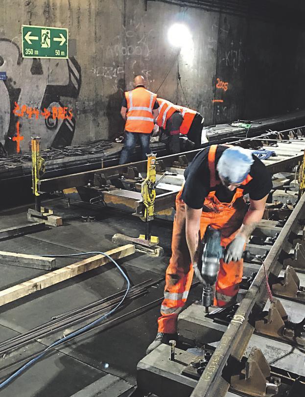 KVB investiert 2019 rund 7,4 Millionen Euro in die Ertüchtigung der Infrastruktur – Beeinträchtigungen werden bewusst minimiert Image 1