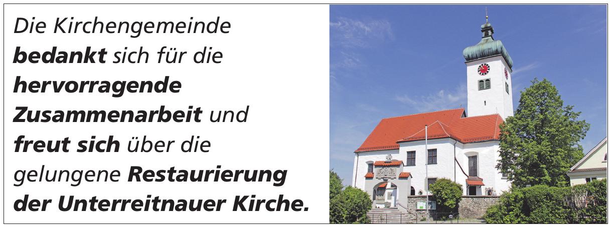 Die Kirche in Unterreitnau