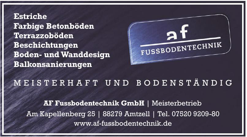Af Fußbodentechnik GmbH