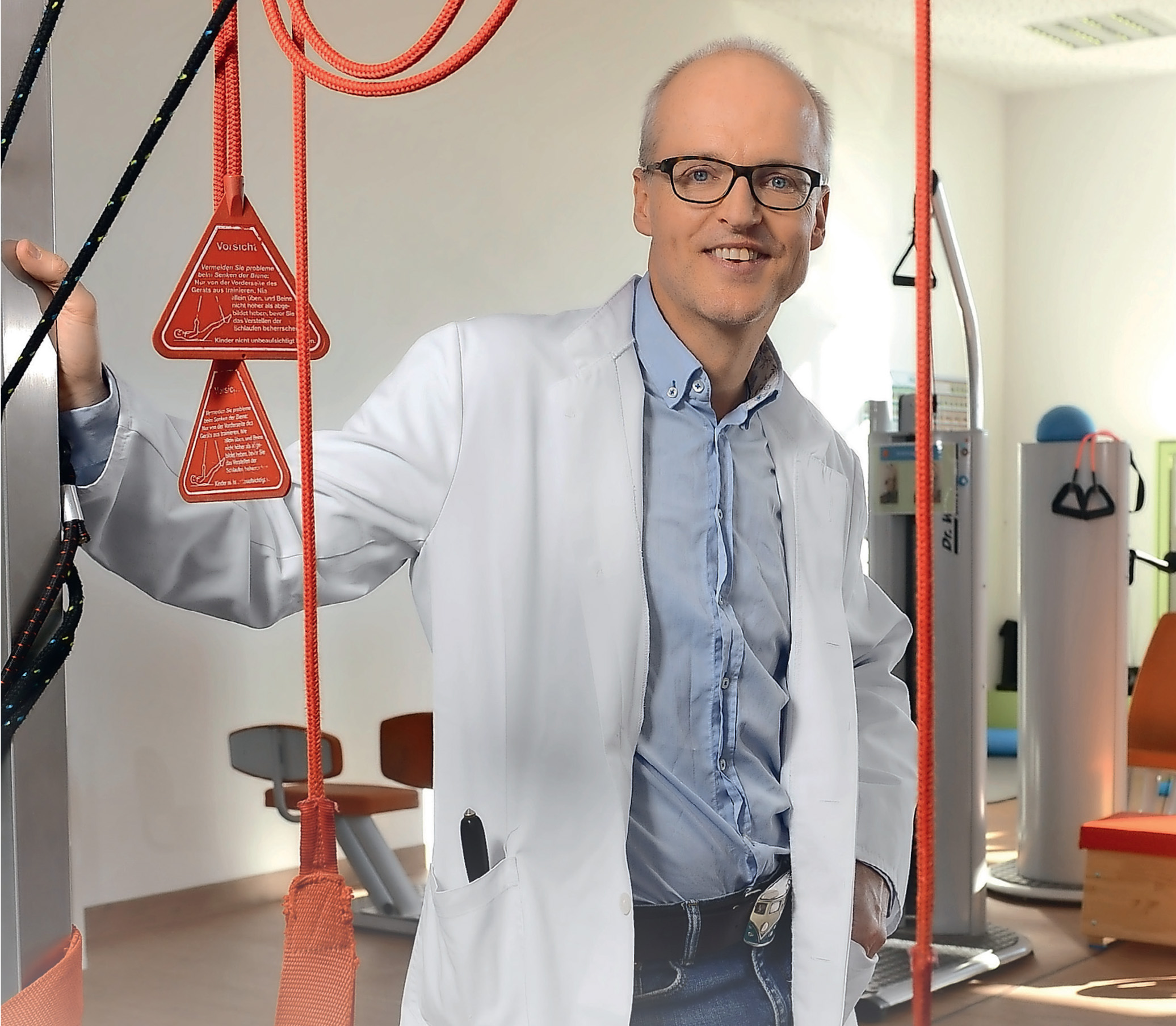 Der Sportmediziner und Internist Dr. Robert Margerie (50) arbeitet im Zentrum für Sportmedizin im Olympiapark Berlin. Margerie ist Antidoping-Beauftragter des Landessportbundes Berlin und passionierter Langstreckenläufer, Mountainbiker und Fitnesssportler.
