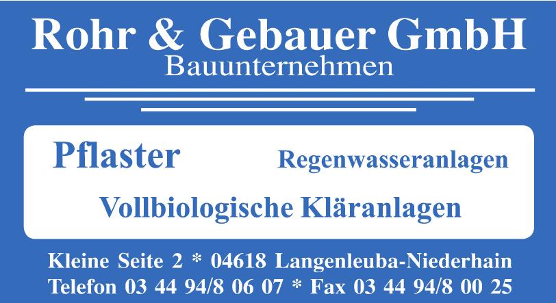 Rohr & Gebauer GmbH