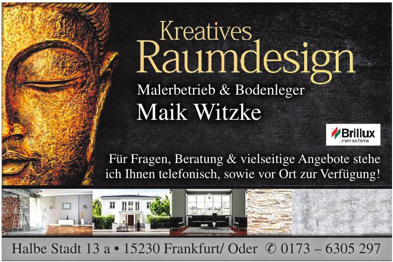 Malerbetrieb & Bodenleger Maik Witzke