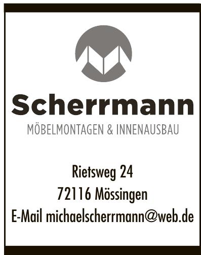 Scherrmann Möbelmontagen & Innenausbau