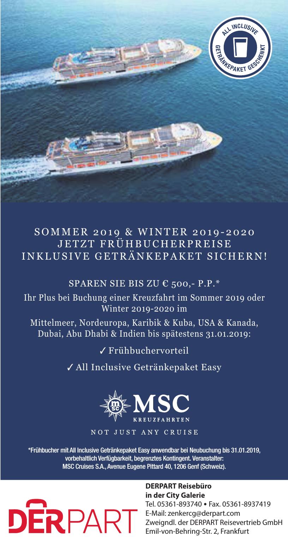 Zweigndl. der DERPART Reisevertrieb GmbH