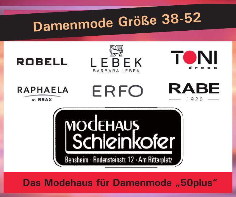 """Modehaus Schleinkofer - Das Modehaus für Damenmode """"50plus"""""""
