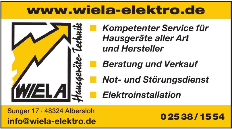 Wiela-Hausgeräte - Technik
