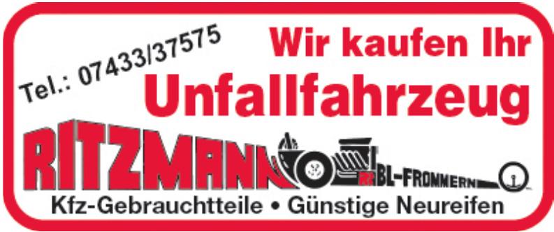 Ritzmann Kfz-Gebrauchtteile
