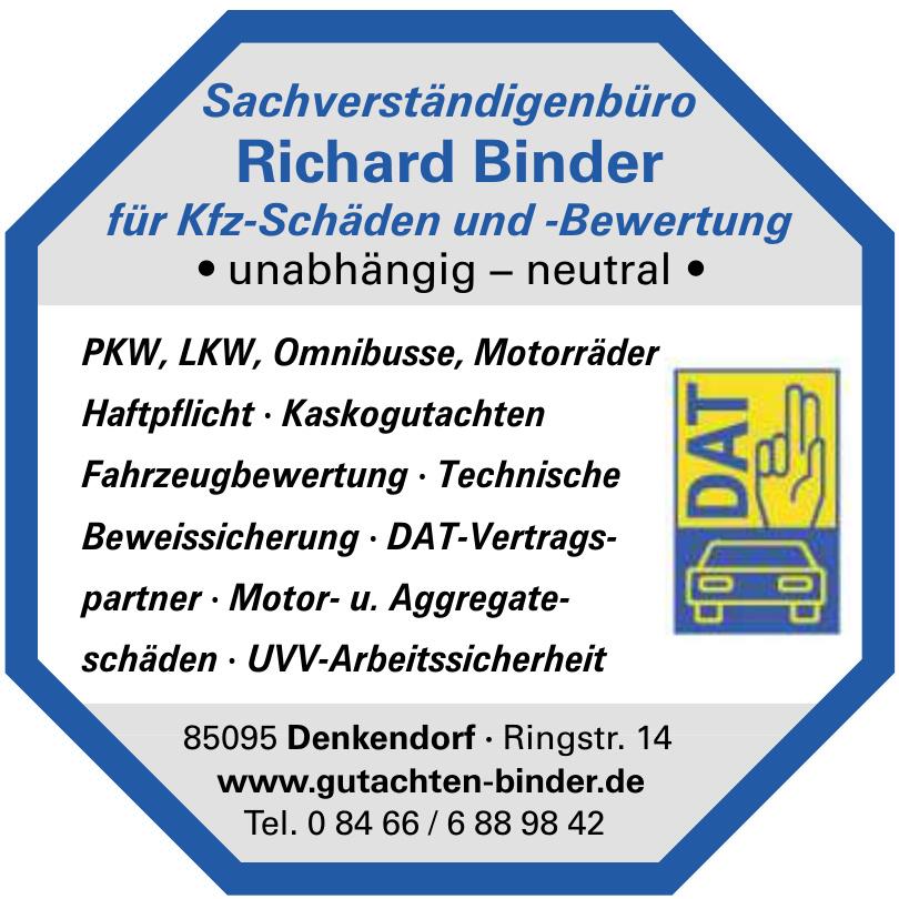 Sachverständigenbüro Richard Binder