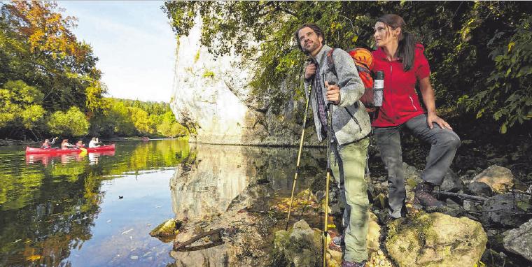 Fünf Premiumwanderwege bieten rund um Sigmaringen Erholung in der Natur. FOTO: ARCHIV