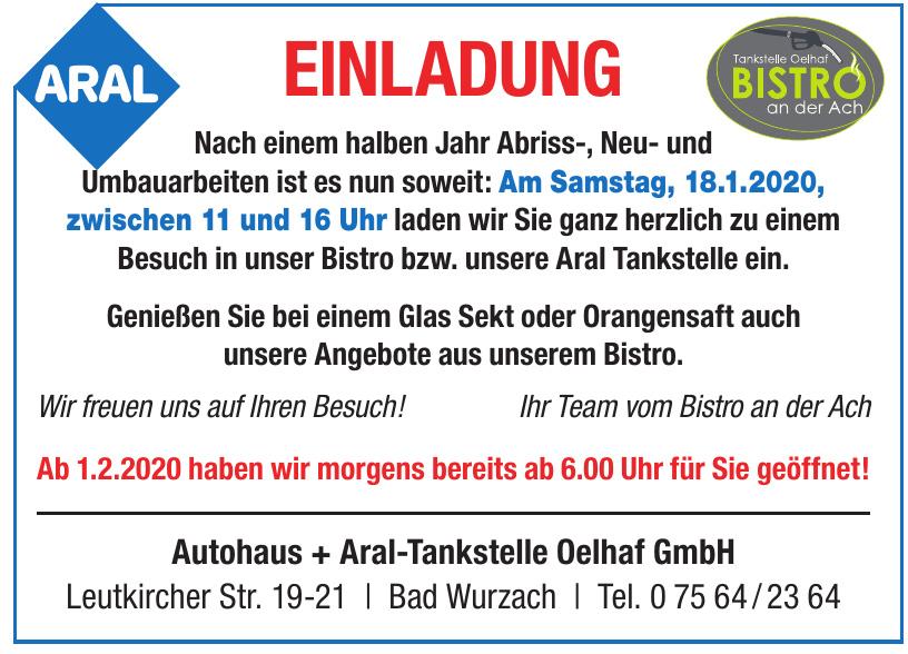Autohaus + Aral-Tankstelle Oelhaf GmbH