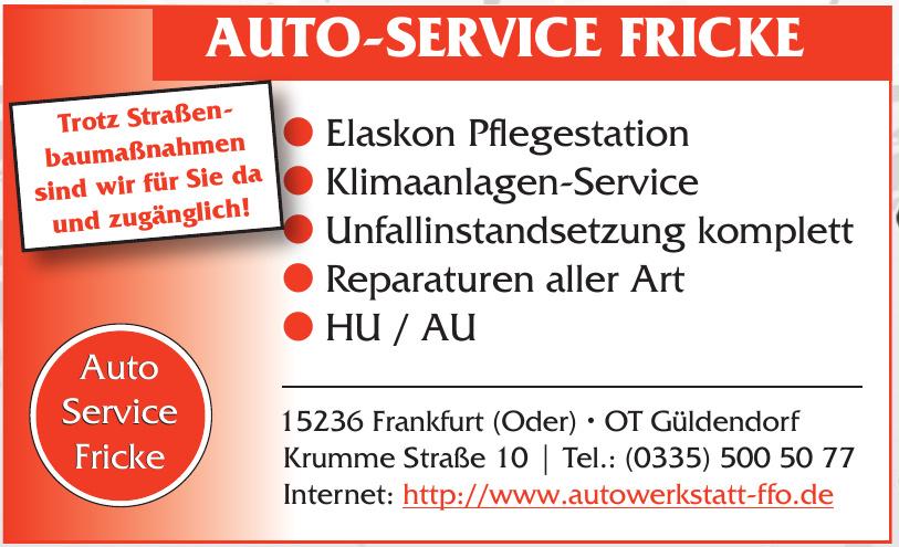 Auto-Service Fricke