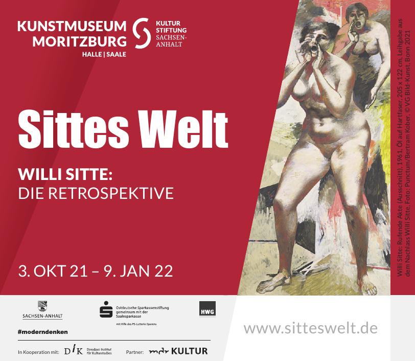 Kunstmuseum Moritzburg - Sittes Welt