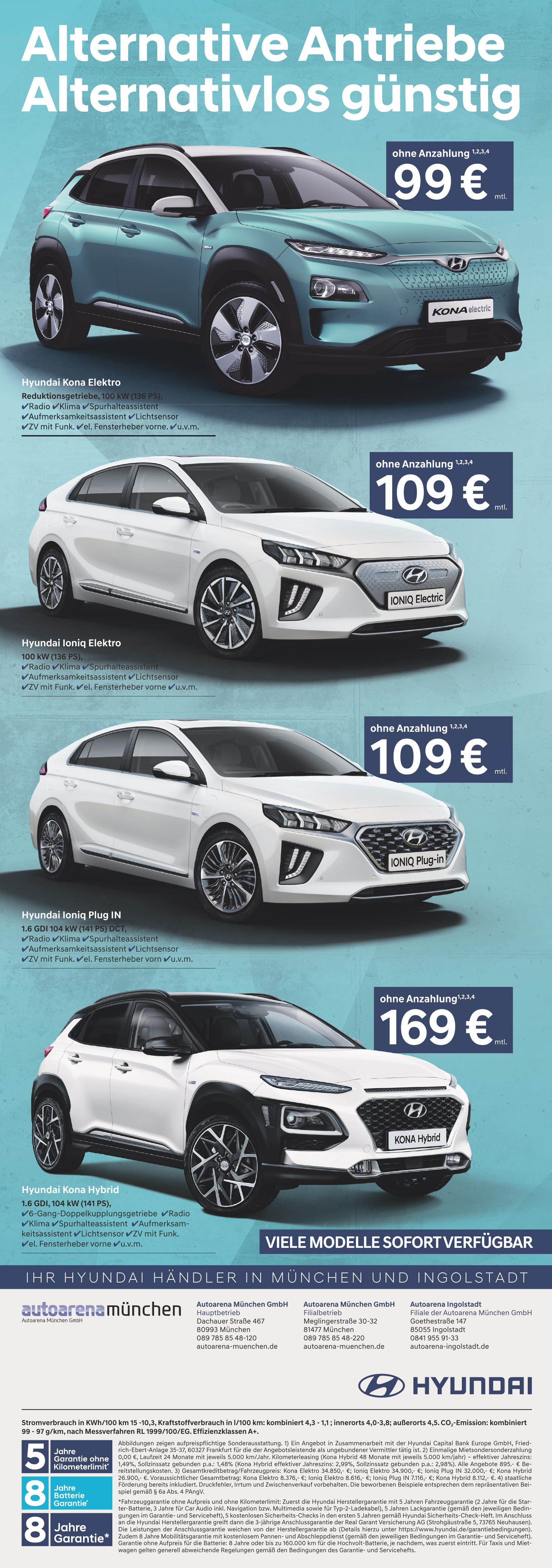 Autoarena München GmbH Hauptbetrieb
