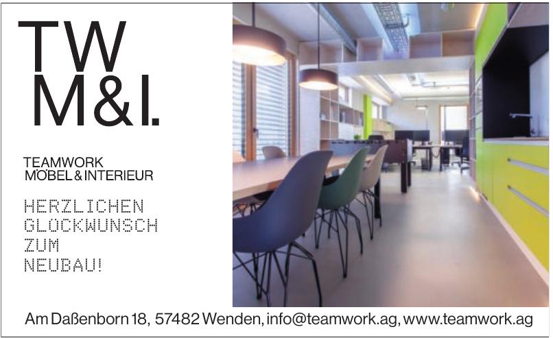 Teamwork Möbel & Interieur