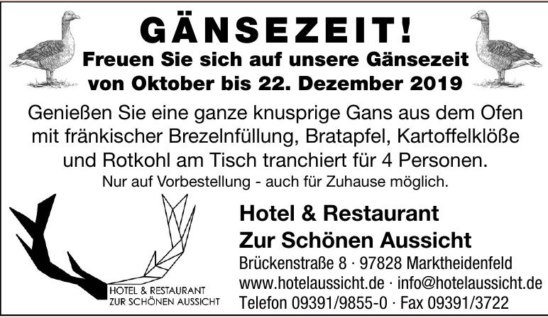 Hotel & Restaurant  Zur Schönen Aussicht